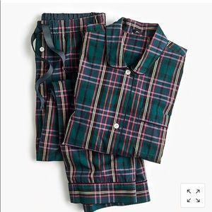 J Crew Vintage Pajamas Signature Tartan L